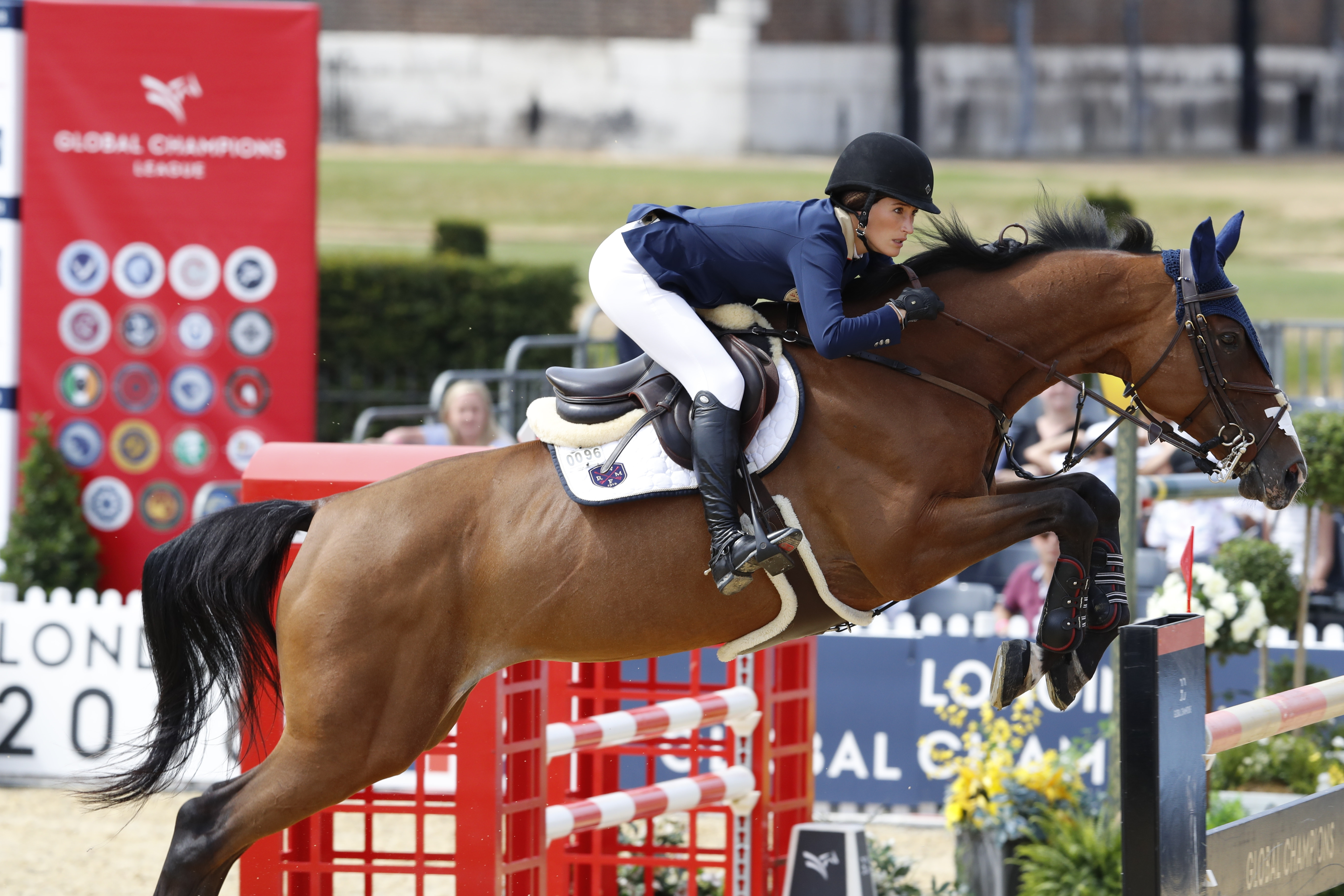 Jessica Springsteen in Global Champions League